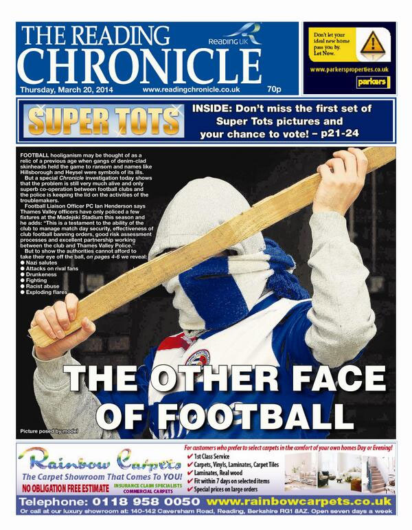 Reading Chronicle - 20 March 2014